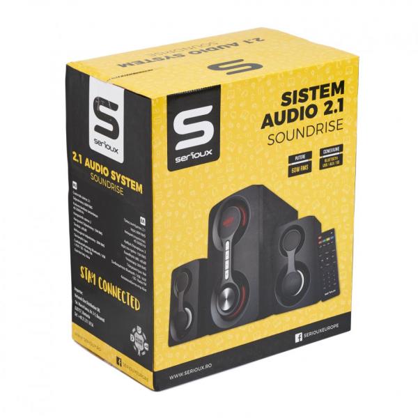 BOXA 2.1 SERIOUX SOUNDRISE SRXS-2160WS 5