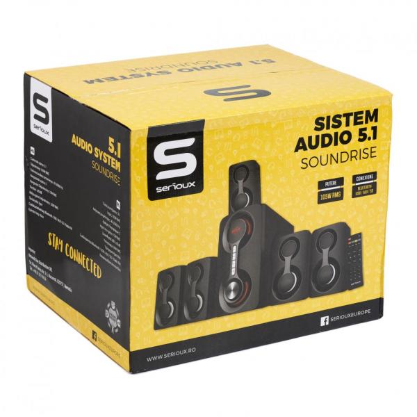 BOXA 5.1 SERIOUX SOUNDRISE SRXS-51105W 2