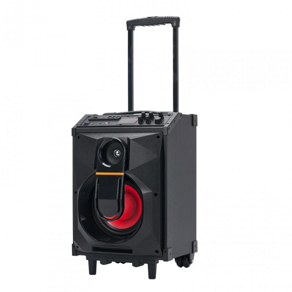 Boxa portabila Serioux Trolley SoundCase, bluetooth, SD card, USB, 40W 4