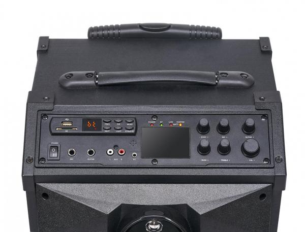 Boxa portabila Serioux Trolley SoundCase, bluetooth, SD card, USB, 40W 3