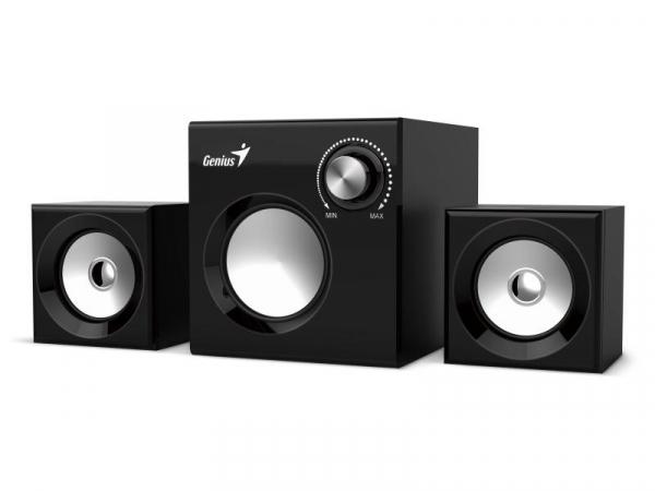 BOXE 2.1 GENIUS SW-2.1 370 BLACK 0