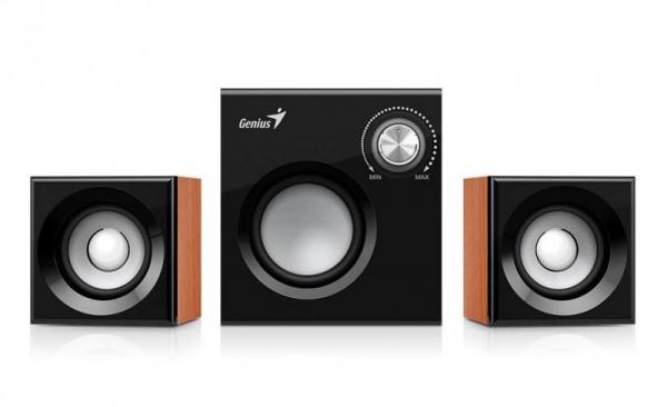 BOXE 2.1 GENIUS SW-2.1 370 WOOD 0
