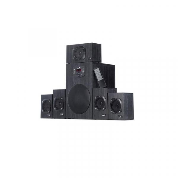 BOXE 5.1 GENIUS SW-HF5.1 4500 WOOD BLACK 0