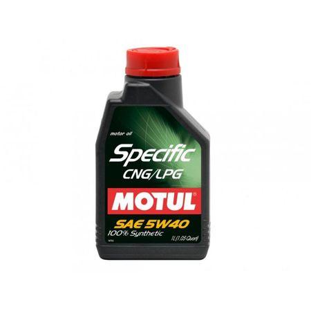 Ulei motor Motul Specific CNG/LPG, 5W40, 5L [0]