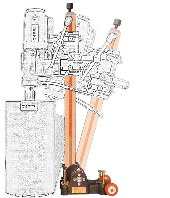 Cabel CAS 160, suport pentru CSN-6A-BA, reglaj unghi +/-60 grade 0