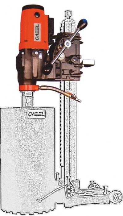 Cabel CSN-10A-MSP, unitate antrenare carota [0]