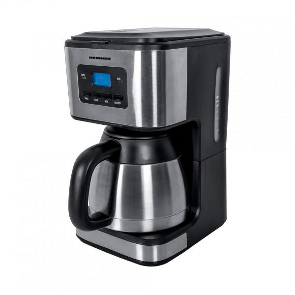 Cafetiera Heinner Digitala HCM-900XMC, 900W, 1L, cana termos, Lcd, Timer, Inox 0