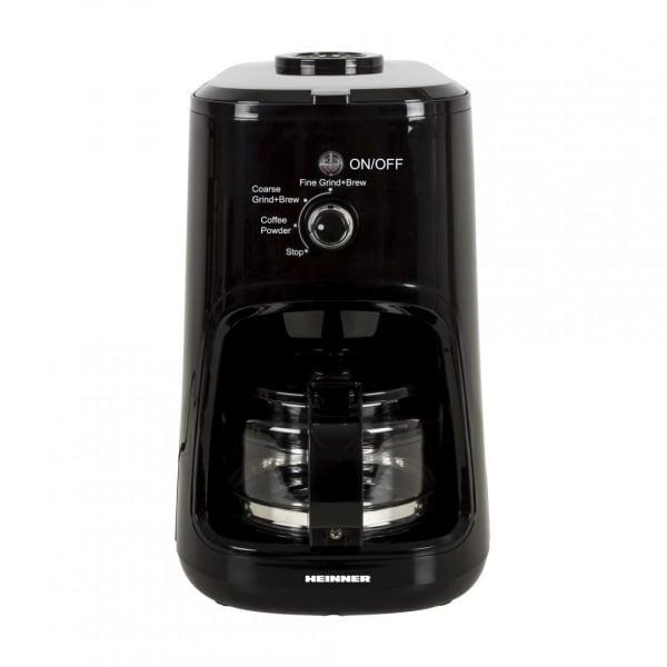 Cafetiera Heinner HCM-900RBK, 900 W, Rasnita incorporata, 0.6 L, Negru 1