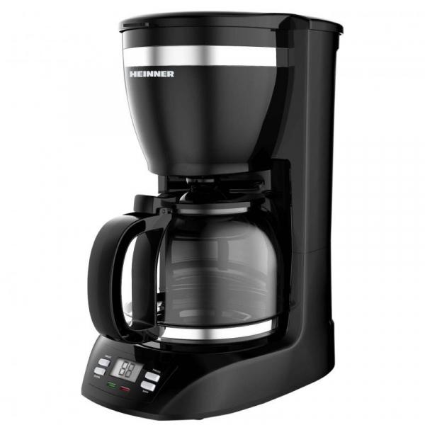 Cafetiera Heinner Savory HCM-1100D, 900 W, 1.5 l, Negru 0