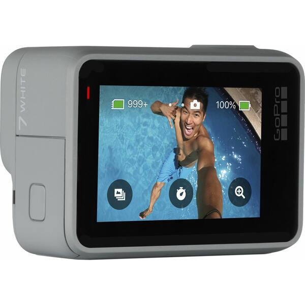 Camera video sport GoPro HERO7, Full HD, White Edition 2