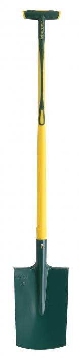 Cazma cu margine - 28 cm, coada NOVAGRIP, capat forma T [0]