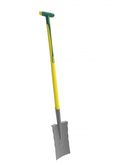 Cazma slefuita model Nord DUOPRO - 28 cm, coada NOVAGRIP, capat forma T 1