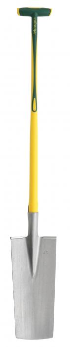 Cazma slefuita pentru pepiniere - 40 cm, coada NOVAGRIP, capat forma T 0