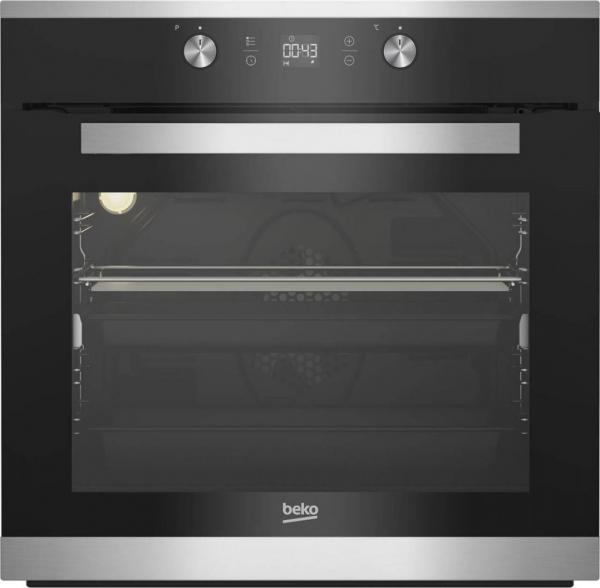 Cuptor incorporabil Beko BIM15300XPS, Electric, Autocuratare pirolitica, 71 l, Clasa A+, Grill, 3D Cooking, Inox 0