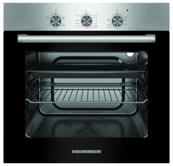 Cuptor incorporabil Heinner HBO-S624LTG-IX, Electric, 62 l, 4 functii, Grill, Clasa A, Inox 0