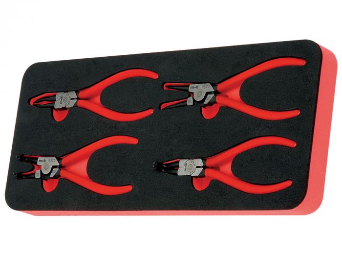Modul OSC cu 4 clesti inele siguranta manson PVC Mob&Ius 0