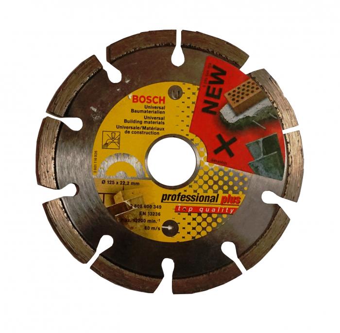 Disc diamantat 125mm pentru materiale constructii 0