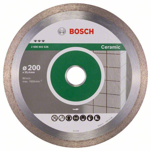 Disc diamantat Best pentru ceramica 200 x 25.40 x 2.2mm 1