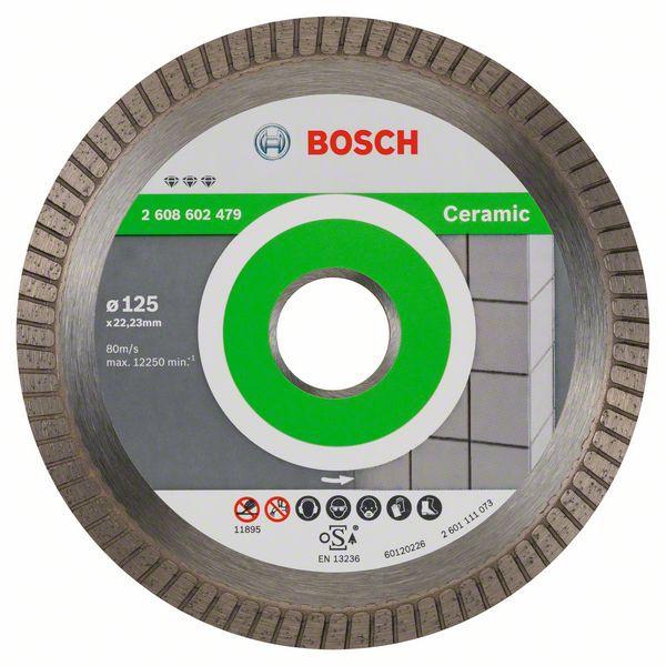 Disc diamantat Best pentru ceramica Extra-Clean Turbo 125mm [0]
