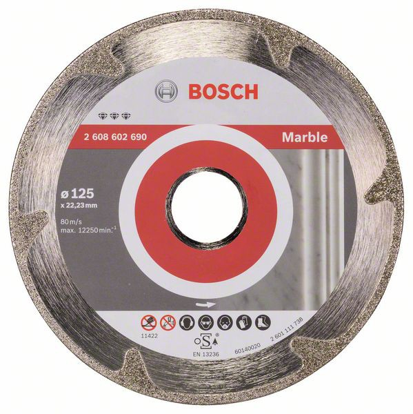 Disc diamantat Best pentru marmura 125 x 22.23 x 2.2mm 0