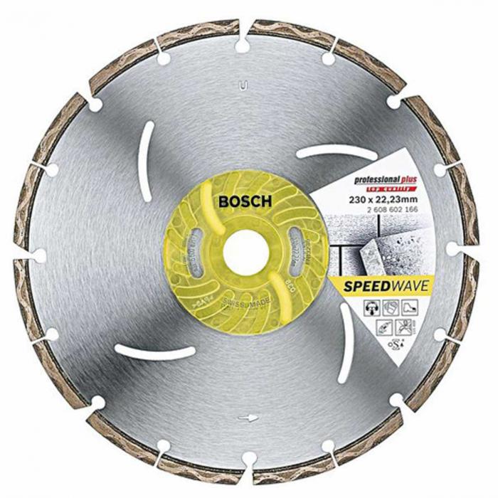 Disc diamantat Best universal si metal 125mm (inlocuit de 2608602662) 0