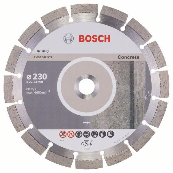 Disc diamantat Expert pentru beton 230 x 22.23 x 2.4mm [0]