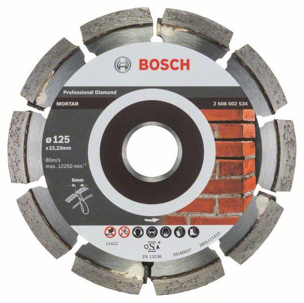 Disc diamantat Expert pentru mortar 125mm [0]