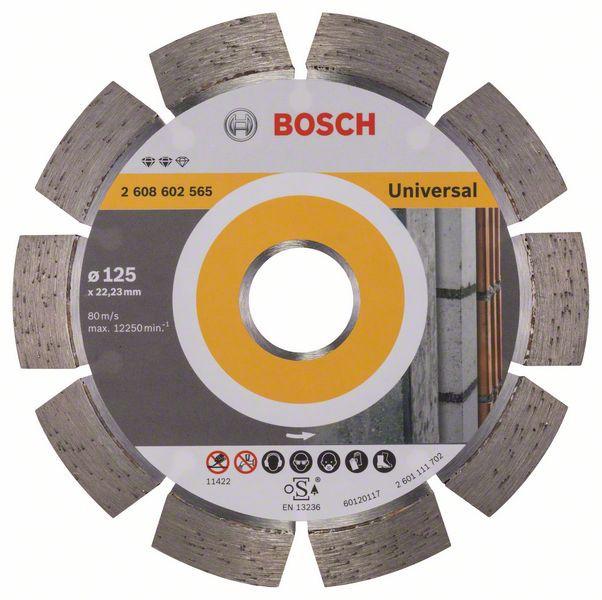 Disc diamantat Expert universal 125 x 22.23 x 2.2mm 0