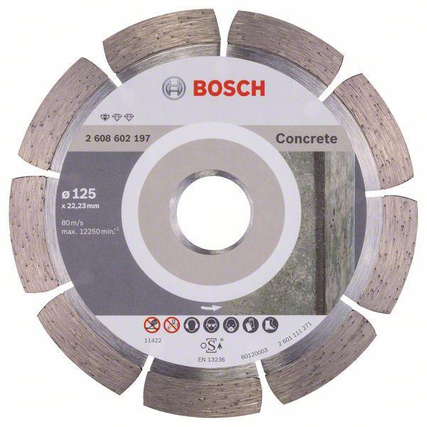 Disc diamantat Standard pentru beton 125mm [0]