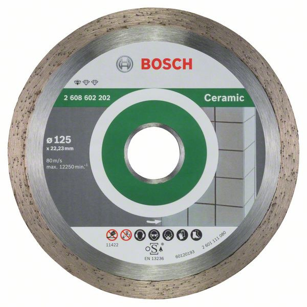 Disc diamantat Standard pentru ceramica 125mm [1]