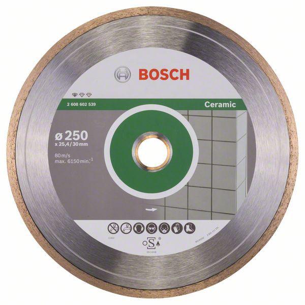 Disc diamantat Standard pentru ceramica 250mm 0