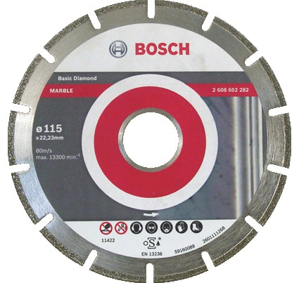 Disc diamantat Standard pentru marmura 115mm 0