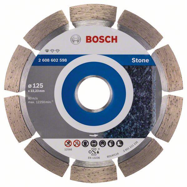 Disc diamantat Standard pentru piatra 125 x 22.23 x 1.6mm 0