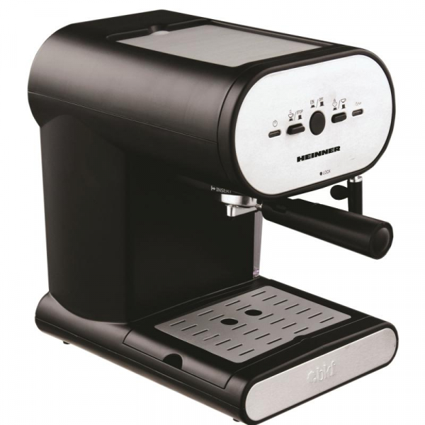 Espressor manual Heinner Soft Cream HEM-250, 1050W, 15 bar, 1l, Negru 0
