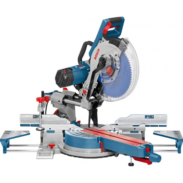 Fierastrau circular stationar Bosch - GCM 12 SDE, 1800 W, 305x30 mm, transmisie curea, turatie reglabila, glisare, ghidaj laser 1