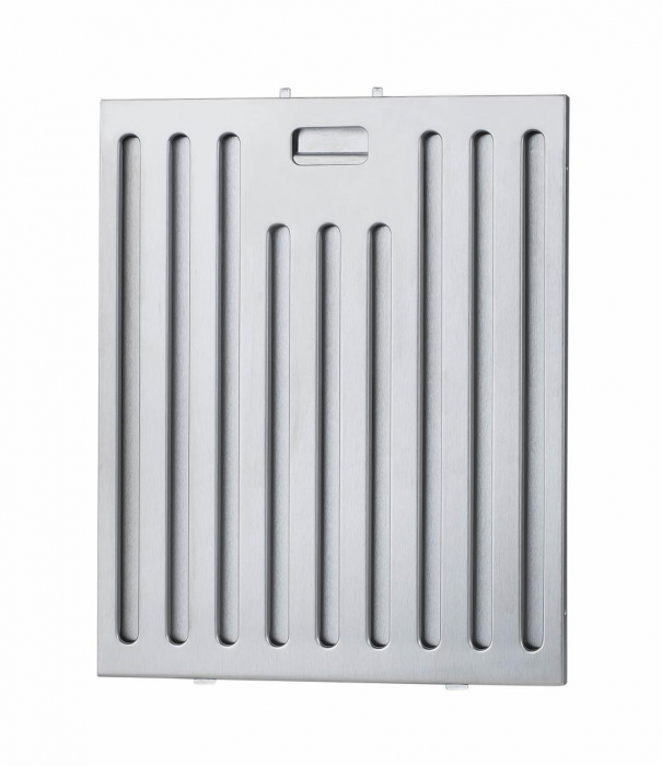 Filtru aluminiu pentru hota decorativa Heinner BF-650IBOX, compatibil cu DCH-650IBOX, 23.7 x 31.9 x 0.9 cm 0
