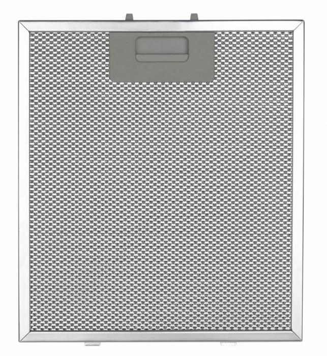 Filtru de aluminiu pentru hota decorativa Heinner AF-6590TIX, compatibil cu DCH-6590TIX, DCH-500RSLIX, 27.1 x 31.9 x 0.9 cm 0