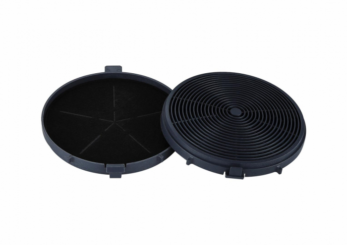 Filtru de carbon hota decorativa Heinner FC-HD450, compatibil cu modelul DCH-450X, 1 buc 0