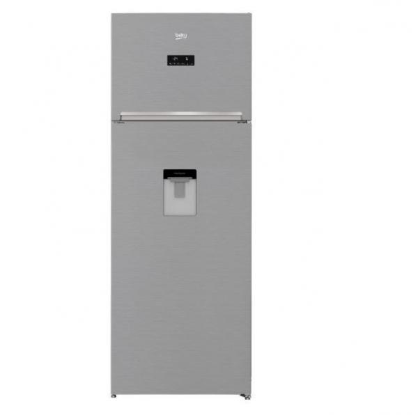 Frigider cu doua usi Beko RDNE535E30DZXB, 471 litri, Clasa A++, Compartiment 0°C, Compresor ProSmart Inverter, Everfresh+, NeoFrost, 193 cm, Argintiu193 cm Latime70 cm Adancime69 cm 0