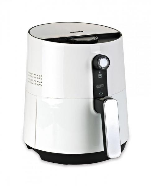 Friteuza cu aer cald Heinner HAF-1300WH, 1300 W, 2.6 l, Timer, Alb 0