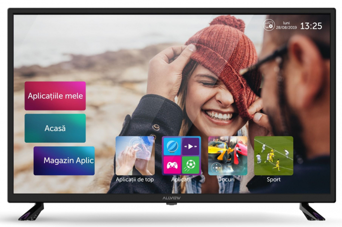 Televizor LED Smart Allview, 81 cm, 32ATS5000-H, HD, Clasa A+ 0