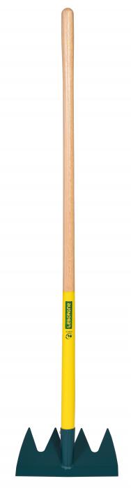 Grapa cu 4 dinti DUOPRO, coada din lemn certificat PEFC 100% 1