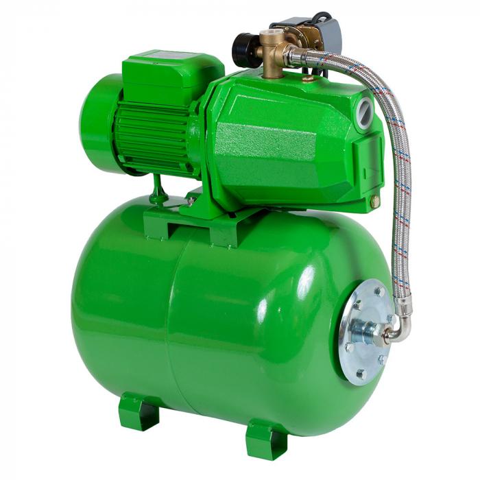 Hidrofor ProGARDEN AUJET100L / 24L 750 W 24 l 3000 l/h inaltime refulare 45 m adancime absorbtie 9 m 4 bar 20 Kg 1