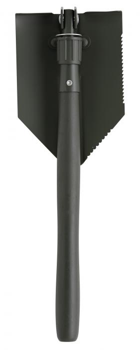 Lopata-tarnacop 14 cm, pliabila, coada din lemn 0