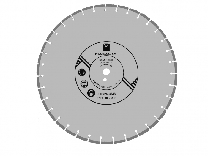 Masalta Disc diamantat beton 500mm PRO 0