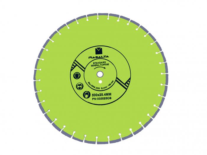 Masalta Disc diamantat uz general 500mm PRO 0