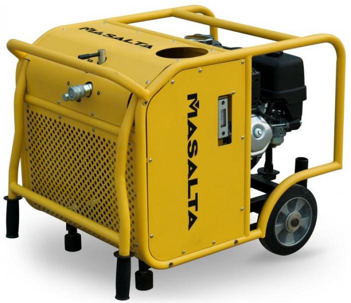 Masalta MHP13/30-4U Unitate hidraulica, 138 bar, 30 L/min, Honda GX390, benzina 0