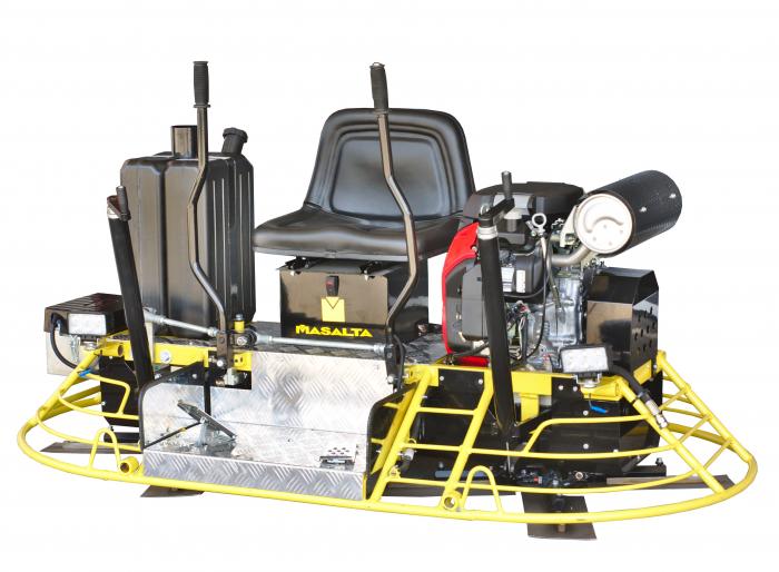 Masalta MRT73 Slefuitor dublu 1860mm, Honda GX690, benzina (permite discuri flotoare) 1
