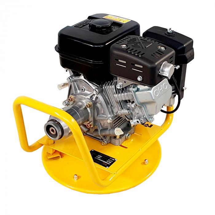 Masalta MVDR-3 Motor vibrator pentru beton, Robin EX17, benzina [1]