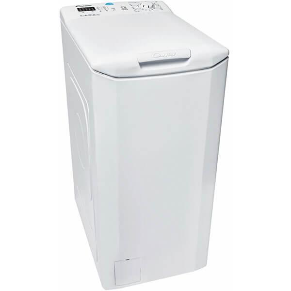 Masina de spalat rufe cu incarcare verticala Candy CST 372L-S, Afisaj LED, Smart Touch, NFC, 7 kg, 1200 R 0